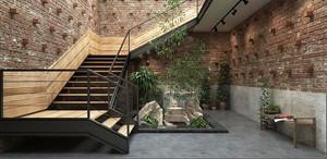 现代风格别墅创意楼梯装修效果图