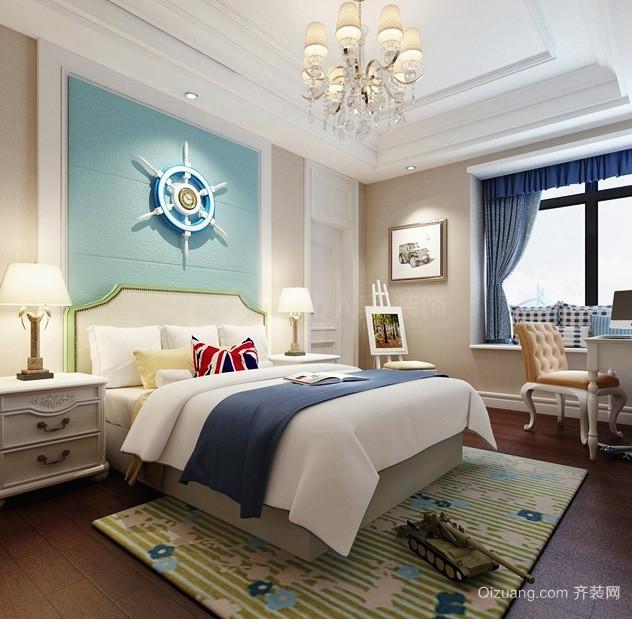 139平米欧式风格两室两厅设计装修效果图鉴赏