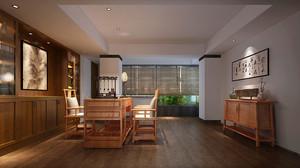 30平米现代中式风格书房装修效果图赏析