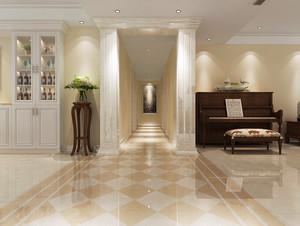 149平米简欧风格三居室室内装修效果图赏析