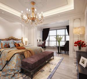 30平米欧式风格主卧室装修效果图鉴赏