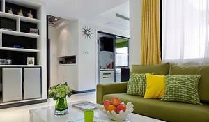 80平米都市小清新风格室内设计装修效果图赏析