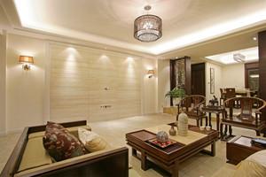 新中式风格两室两厅两卫室内装修效果图