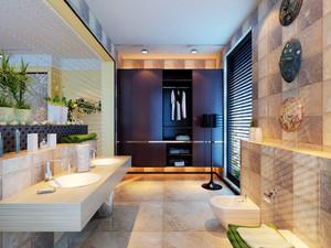 146平米后现代极简主义风格大户型室内装修效果图