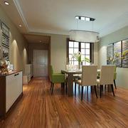 现代简约风格大户型室内餐厅吊灯设计装修效果图