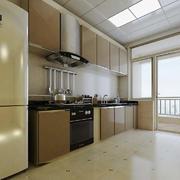 现代简约风格大户型室内厨房设计装修效果图赏析
