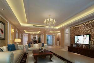 复古欧式风格大户型室内装修效果图赏析