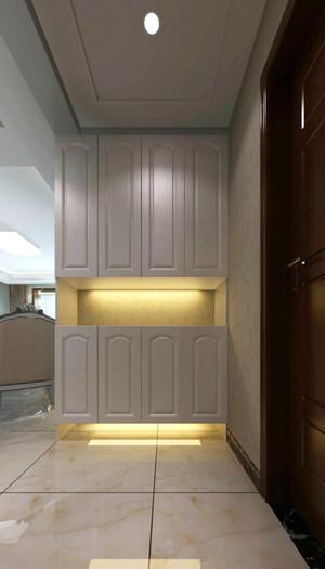 简欧风格大户型室内入室玄关柜装修效果图