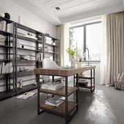 后现代极简主义风格书房装修效果图