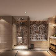 20平米现代简约风格卫生间淋浴房装修效果图