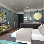 后现代风格大户型室内卧室装修效果图赏析