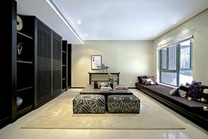 200平米新中式风格别墅室内装修效果图