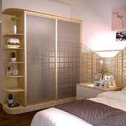 东南亚简约风格卧室整体衣柜设计装修效果图
