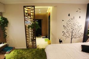 50平米东南亚风格小公寓设计装修效果图