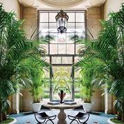 欧式风格别墅入户花园装修效果图鉴赏