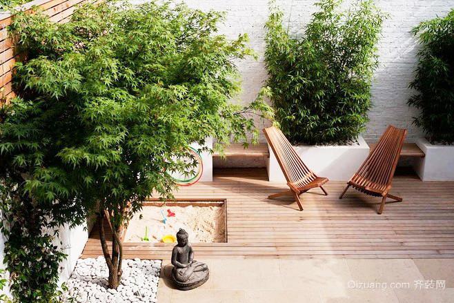东南亚风格大户型客厅入户花园装修效果图