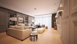 宜家自然风格两室两厅一卫室内装修效果图