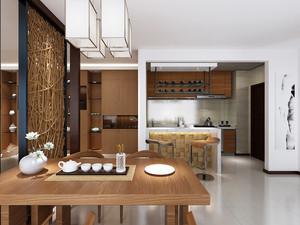 现代中式风格餐厅隔断设计装修效果图赏析