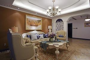 精致地中海风格别墅室内装修效果图赏析
