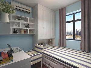 10平米现代简约风格儿童房间设计装修效果图