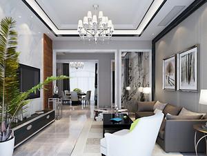 168平米简欧风格大户型室内装修效果图