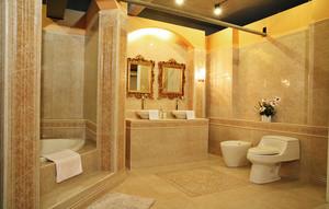 145平米欧式风格跃层式住宅室内装修效果图赏析