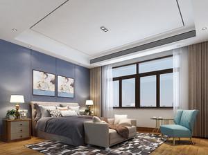 30平米现代简约风格大户型室内卧室装修效果图