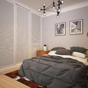 后现代简约风格卧室整体衣柜装修效果图赏析