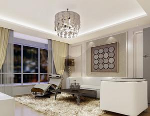 简欧风格两室两厅一厨一卫装修效果图赏析