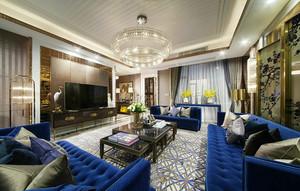163平米新古典主义风格大户型室内装修效果图