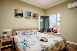 78平米时尚混搭风格一室一厅一厨一卫装修效果图