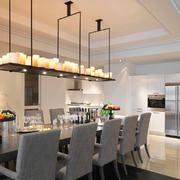 现代风格小户型餐厅吊灯设计效果图鉴赏