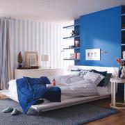 地中海风格单身公寓卧室装修效果图赏析