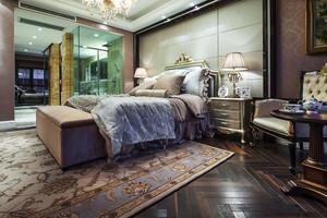 欧式风格别墅卧室卫生间隔断设计效果图赏析