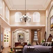欧式风格别墅奢华卧室吊灯设计效果图鉴赏