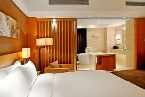 日式风格大户型卧室卫生间隔断设计效果图赏析