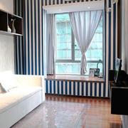 地中海风格小户型客厅飘窗设计效果图赏析