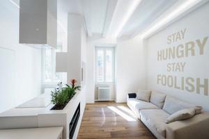 50平米北欧风格单身公寓室内整体装修效果图赏析
