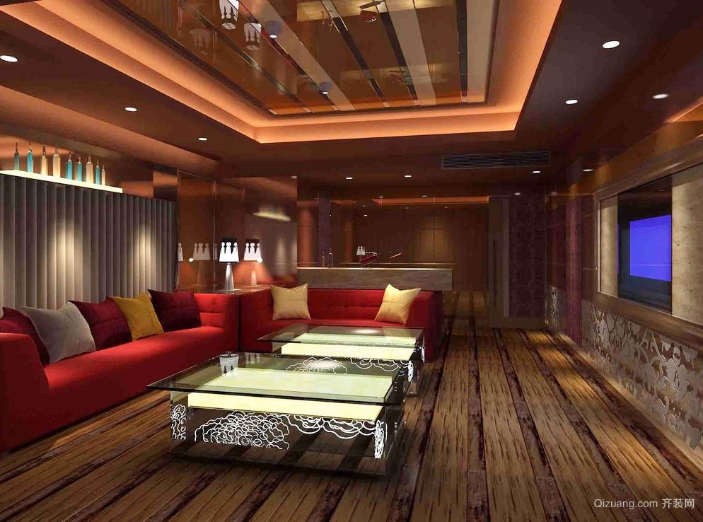 83平米現代中式風格會客廳裝修設計效果圖