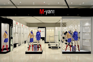 98平米现代风格服装店装修效果图赏析