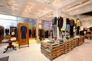 115平米现代风格服装店装修效果图赏析