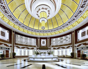 178平米后现代风格酒店大堂装修效果图赏析