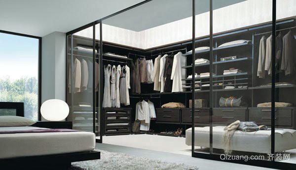 现代风格大户型步入式衣柜设计效果图赏析