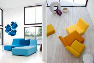 现代风格小户型客厅创意沙发设计效果图鉴赏