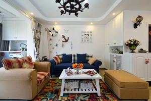 地中海风格三居室室内装修效果图赏析