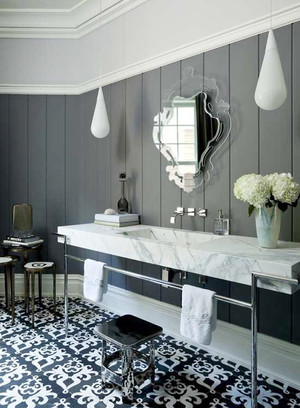现代风格大户型豪华卫生间装修设计效果图鉴赏