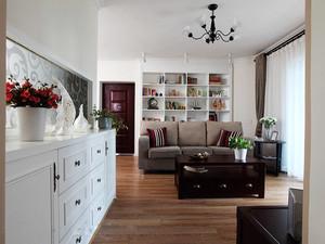 简欧风格三居室室内整体装修效果图鉴赏