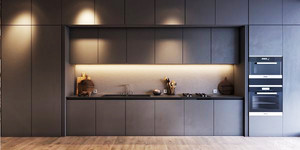 北欧风格小户型开放式厨房装修效果图