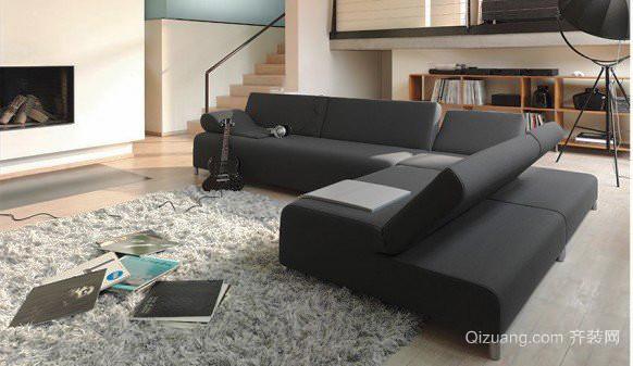 120平米现代风格客厅沙发设计效果图赏析