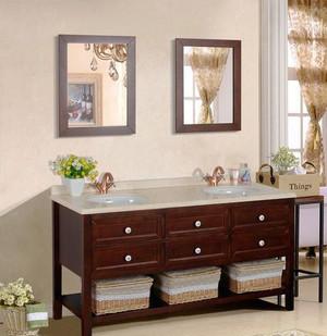 美式风格大户型卫生间储物柜设计效果图鉴赏
